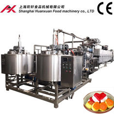 Fully Automatic Soft Candy Machine 100~150kg/H Production Capacity